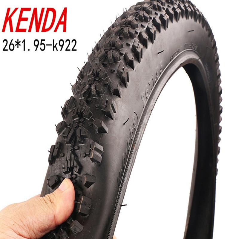 Шины KENDA 26 дюймов 1,95 2,125 65PSI для горного и шоссейного велосипеда 26x2,125/велосипедные шины с резиновой трубкой и широкими шинами K922