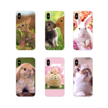 For Apple iPhone X XR XS 11Pro MAX 4S 5S 5C SE 6S 7 8 Plus ipod touch 5 6 Accessories Phone Cases Covers cute animal bunny