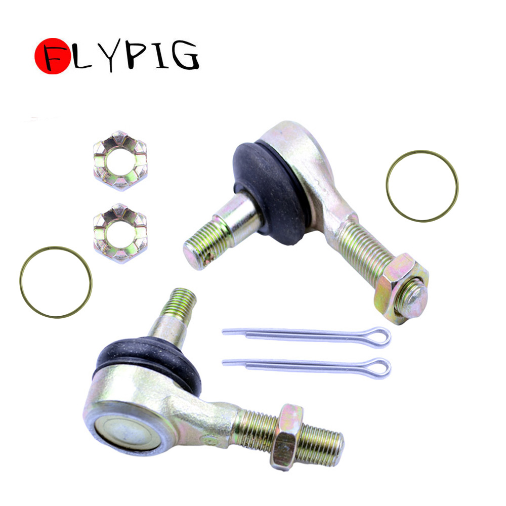 FLYPIG Durable Left & Right TIE ROD END KIT NEW For YAMAHA RAPTOR 700 YFM700 YFM-700 YFM 700 2006-2014