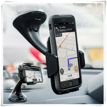Car Sucker Mount Bracket GPS auto Phone Holder Stand for Ford Falcon Everest S-MAX Escort SVT Reflex Freestar F150 image