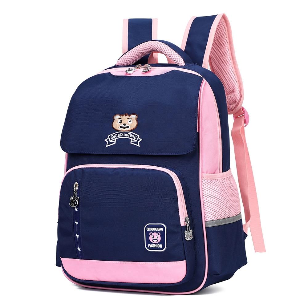 Hot Waterproof Children School Bags For Girls Boys schoolbag Primary School Backpacks Kids Orthopedic Backpack mochila escolar