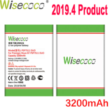 WISECOCO Battery For Prestigio Muze PSP7511 PSP3512 DUO Phone In Stock Latest Production High Quality Battery+Tracking Number