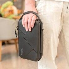 TELESIN แบบพกพาเก็บกระเป๋าสำหรับ GoPro HERO 8 7 6 5 4 กล้อง Action Action กล้องอุปกรณ์เสริม