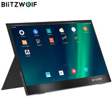 BlitzWolf BW-PCM2 13,3 Zoll FHD 1080P Typ C Tragbare Computer LCD Monitor Gaming Display für Smartphone Tablet laptop Konsole