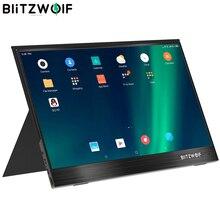 Blitzwolf console portátil BW PCM2 13.3 fhd, Polegada p, monitor de computador lcd portátil, tela de jogo para smartphone, tablet e laptop