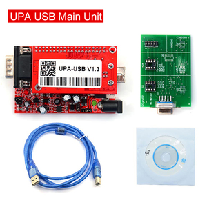 Image 5 - UPA Usb with 1.3 eeprom adapter ECU Programmer Diagnostic tool UPA USB ECU Programmer UPA USB V1.3 With Full Adapter UPA