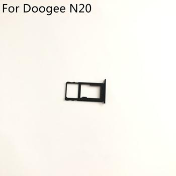 Doogee N20 używana tacka na karty Sim taca na karty do Doogee N20 MT6763 Octa Core 6 3 cala 1080 #215 2280 darmowa wysyłka tanie i dobre opinie ebuydoor Dwóch kart sim adaptery