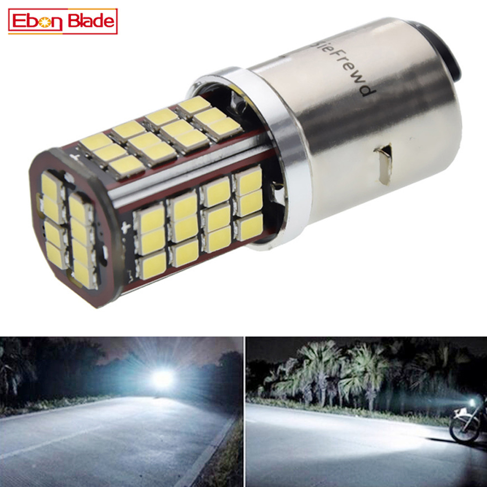 BA20D LED Motorcycle Headlight Bulb Lamp H6 Dual Beam Front Motorbike Moto Scooter Light Headlamp Accessories 6V 12V 24V 30V DC