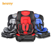 цены Besrey 3 in 1 Child Car Seat Car Seat Adjustable Infant Safety Car Seat 5 Point Harness 9-36 Kg ECE R44 / 04