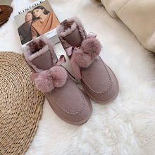 Snow-Boots Casual-Shoes Winter High-Quality Women Warmly Comfortable 25-40-Size New-Arrival