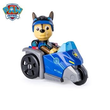 Paw patrol car puppy patrol birthday set anime Chase Skye Marshall action figure model puppy patrol rescue car children gift