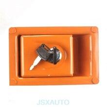 Akcesoria do koparek blokada drzwi bocznych blokada drzwi bocznych pokrywa boczna blokada zamka drzwi pompy hydraulicznej do HITACHI ZAX