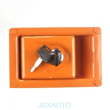 Excavator Accessories Side door lock side door lock side cover lock hydraulic pump door lock for HITACHI ZAX