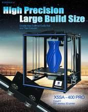 TRONXY DIY 3D Drucker PROKit 400*400*400mm Core XY Mit Extruder/Auto Nivellierung/Filament dectect/Lebenslauf Für X5SA-400