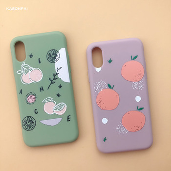 Fashion Peach Avocado Fruit Soft TPU Phone Case For iPhone Cartoon Cute Dinosaur Cover 2
