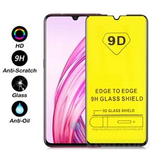9D Glass Film For VIVO Y17 Y19 Y15 Y12 Y11 2019 V15 Pro S5 X30 Glass Full Cover Phone Screen Protectors Tempered Film(China)
