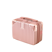 RITRATTI 14 Inch Suitcase For Women For Travelling Cute 33*15*24cm Fashion Mini Luggage For Portable Cosmetic Case