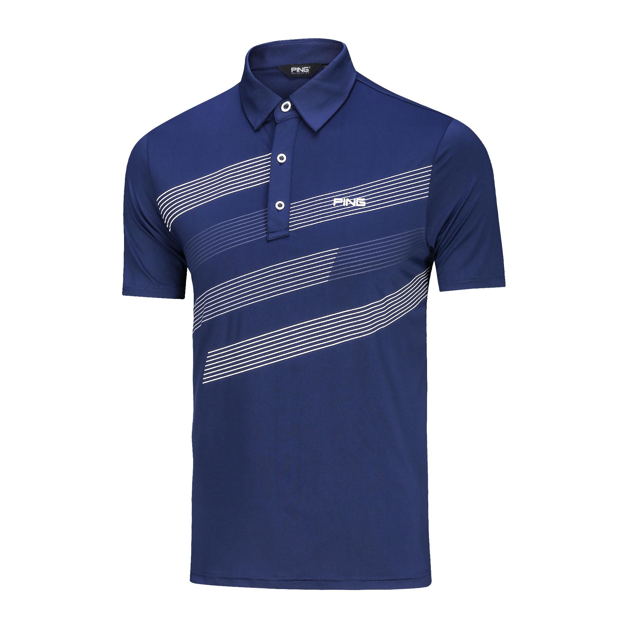 2020new Spring Men Golf Shirt Short Sleeve Quick Dry Turndown Collar Golf Clothing TA