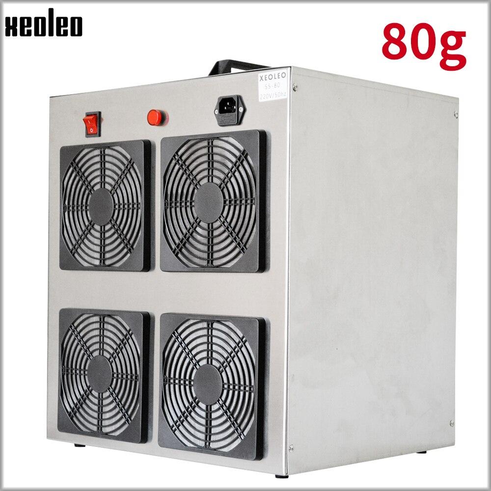 Generador de ozono XEOLEO 80 g/h, esterilizador de aire, máquina desinfectante portátil para el hogar, máquina de esterilización comercial 220V Eruntop 8586D + soldadores eléctricos de doble pantalla Digital + pistola de aire caliente mejor estación de reparación SMD mejorada 8586 8786 8786D