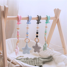 Stroller Hook Bead-Chain Baby Silicone Hand-Made New 1-Pc Toy Star-Style Personalized