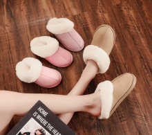 Plush Winter Warm Shoes Women House Slippers Comfort Coral Fleece Memory Foam for Indoor Outdoor Use 2019