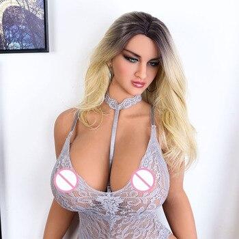 Muñeca Sexual de silicona de 162cm, juguete para adultos, producto Sexual de pecho grande, muñecas sexuales realistas con Vagina, trasero Oral, para hombres, muñeca Sexual de 162cm