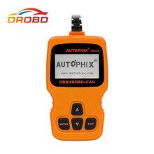 새로운 AUTOPHIX OM123 OBD2 코드 리더 가스 디젤 분석기 러시아어 자동차 자동차 검사 도구 PK ELM327 327에서 자동 진단 스캐너