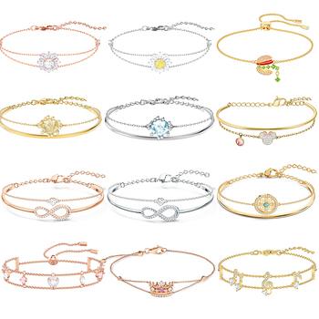 High Quality Original SWA SL017 Bracelet Double Bracelet Valentine Style Woman Jewelry Gift With Original Marking Free Shipping