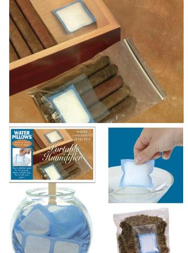 36pcs/lot Practical Cigar Humidifier Bag Pouch for Cigar Tobacco Cigarette Moisturizing Humidifiers Keep Cigars Fresh image