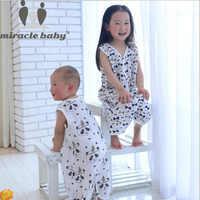 Wunder Baby Baumwolle Musselin Baby Schlafsack Einzigen Schicht Kinder Nachtwäsche Sommer Infant Sleep Größe S, M, L Für 0-3 Jahre