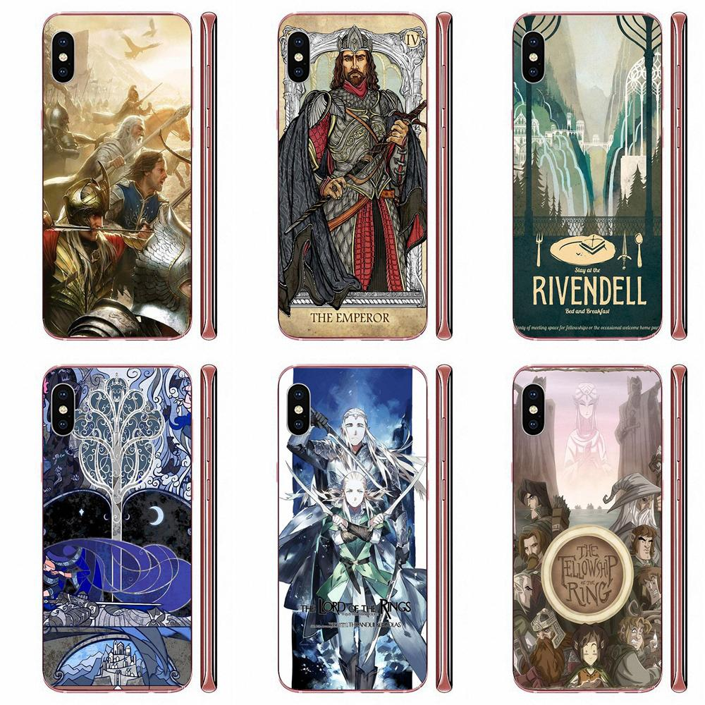 Кольцо Lord Of The Ring Lotr Pretty Art Style для Samsung Galaxy Note 5 8 9 S3 S4 S5 S6 S7 S8 S9 S10 5G mini Edge Plus Lite image