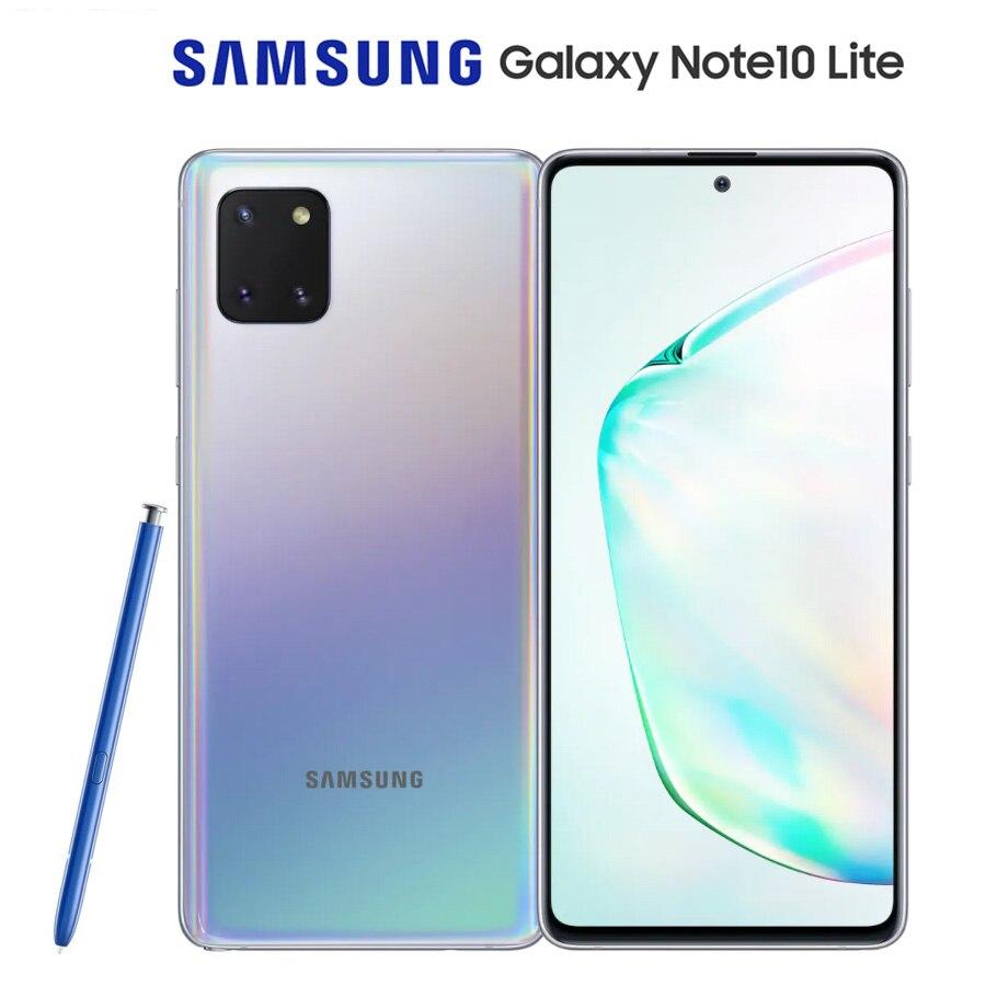 "Global Versie Samsung Galaxy Note10 Lite SM-N770F/Ds Dual Sim 6.7 ""8Gb Ram 128Gb Rom Octacore 4500Mah Nfc Android 10 Smartphone"