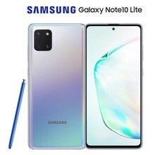 Глобальная версия смартфона Samsung Galaxy Note10 Lite, экран 6,7 дюйма, 8 Гб ОЗУ 128 Гб ПЗУ, Восьмиядерный процессор, 4500 мАч, NFC, Android 10
