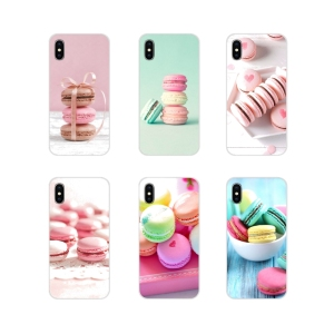 For Xiaomi Mi4 Mi5 Mi5S Mi6 Mi A1 A2 5X 6X 8 9 Lite SE Pro Mi Max Mix 2 3 2S Accessories Phone Shell Cases Paris Laduree Macaron