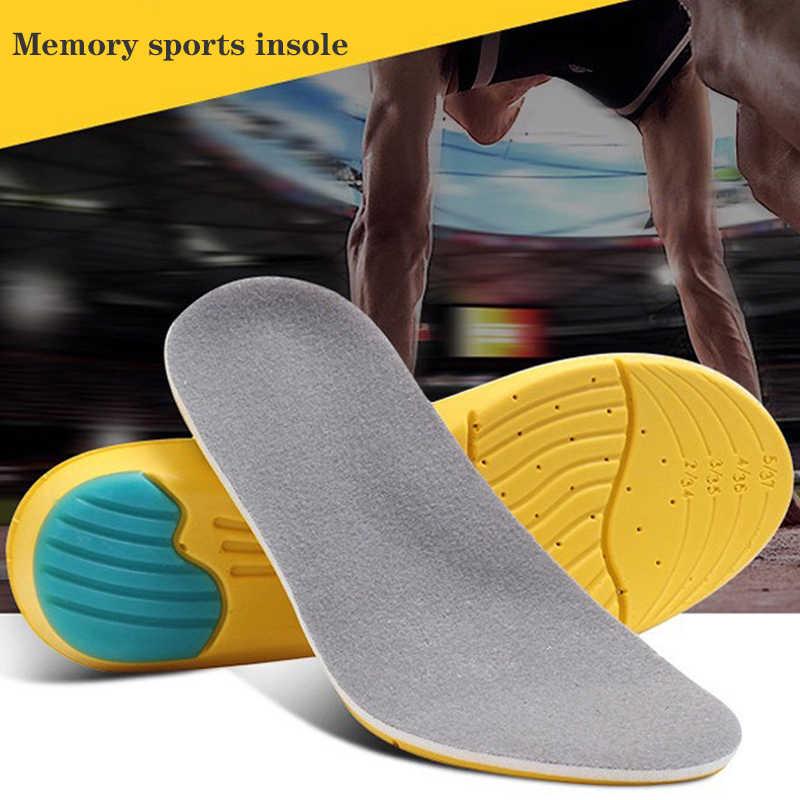 Z pianki memory Sweat Outdoor absorpcja Running Pads sportowe wkładki do butów oddychające wkładki do pielęgnacji stóp męskie rozmiar 35 48 sklepienie łukowe