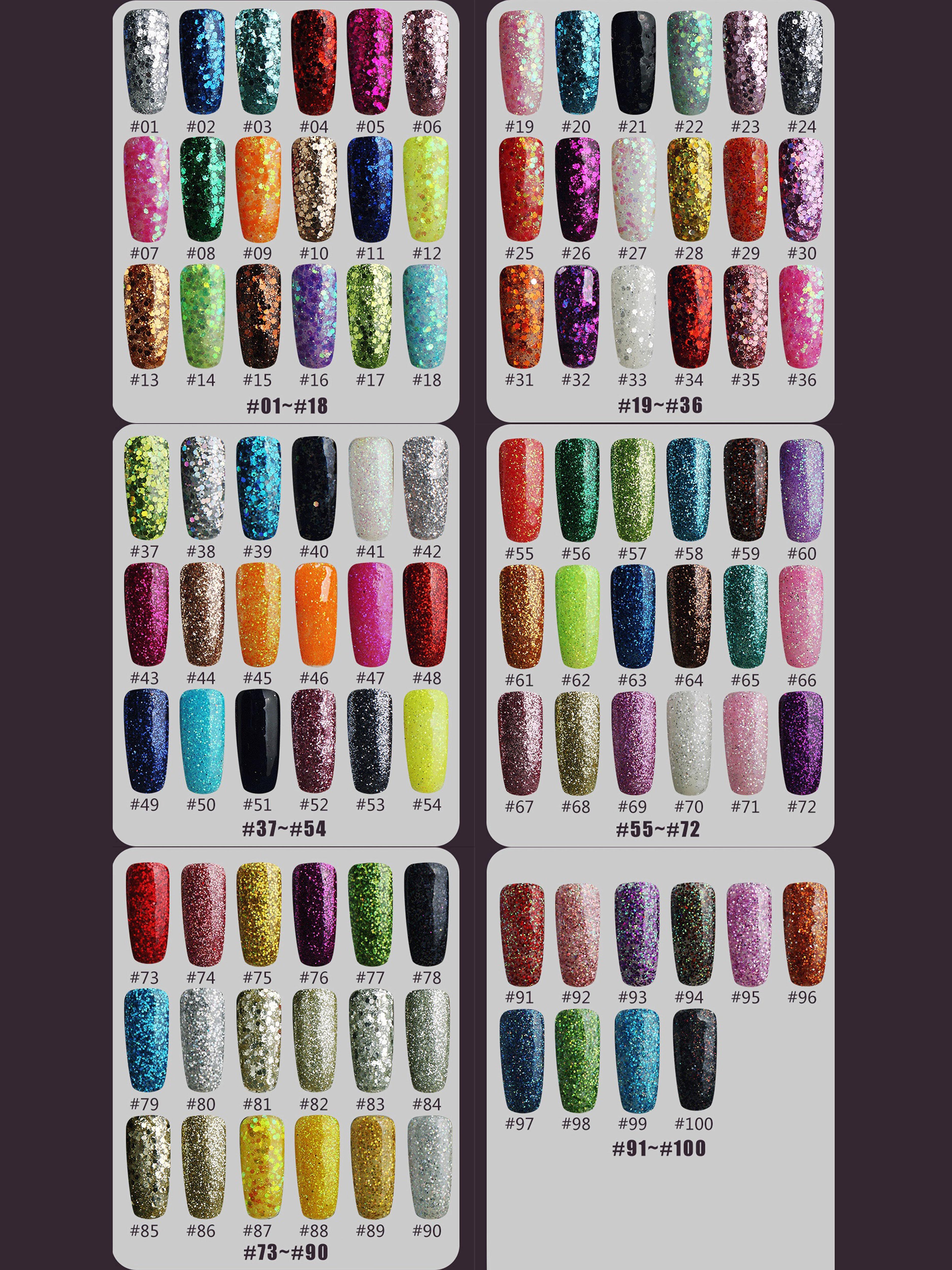 8ml nail glitter Sequins powder uv gel polish hybrid semi permanent soak off led nail gel varnish long lasting nail Lacquer 5