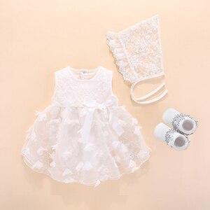 Детское платье для крещения; Коллекция 2020 года; Платья и одежда для новорожденных девочек с бантом; Платье Белоснежки для малышей; Платье дл...