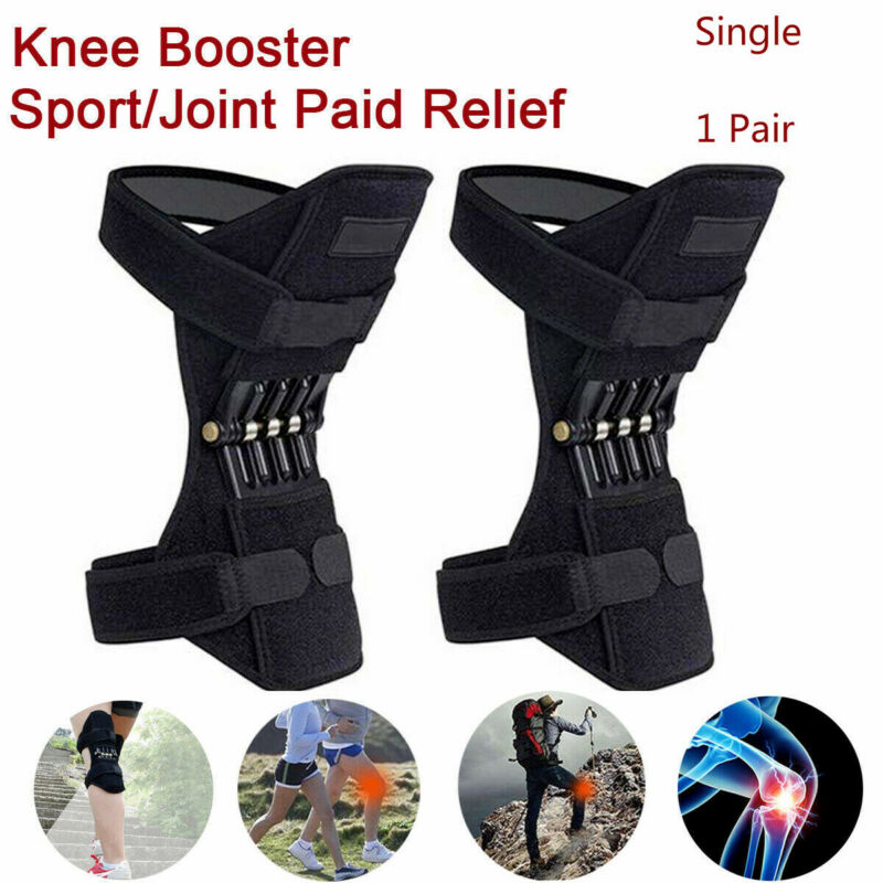 1pc /1 Pair Power Leg Knee Pads Power Joint Support Knee Pads Spring Force Outdoor