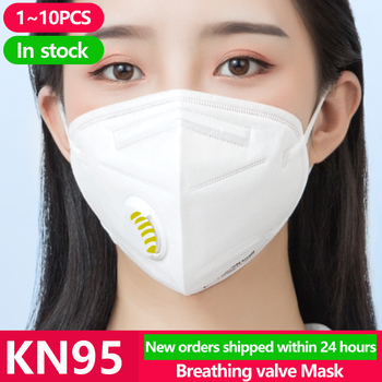 [10PCS] Unisex KN95 Disposable Face N95 KF94 Mask Anti Coronavirus Mouth Cover Facial Dust Pm2.5 Ffp3 Fpp2 Respirator Face Masks 1