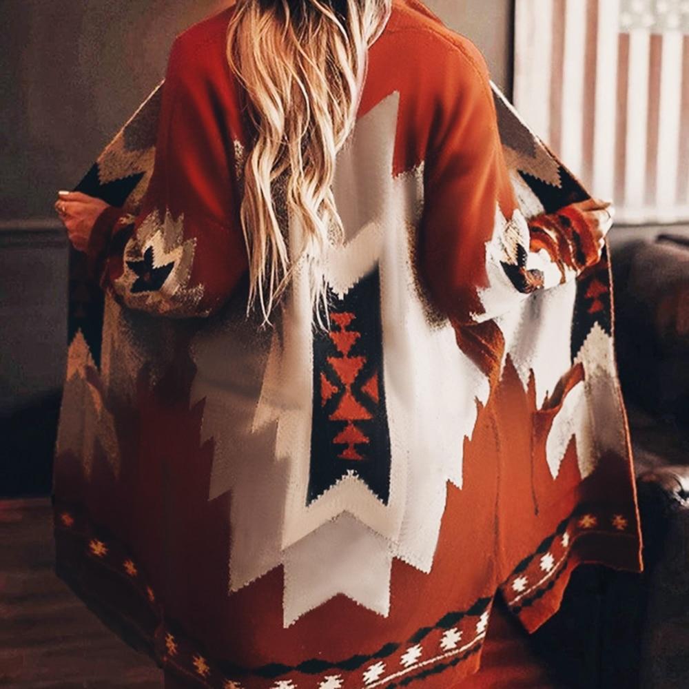 Женское шерстяное пальто с v образным вырезом длинным рукавом