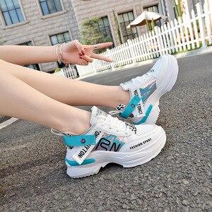 Image 2 - Shofort Vrouwen Schoenen Fashion Casual Wild Sneakers Trainers Chaussure Vrouwelijke Dikke Platform Schoenen Comfortabel Voor Lente Herfst