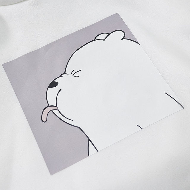 Hoodies oversized print Kangaroo Pocket Sweatshirts Hooded Harajuku winter Casual Vintage Korean Pullovers Women sweatshirts 5