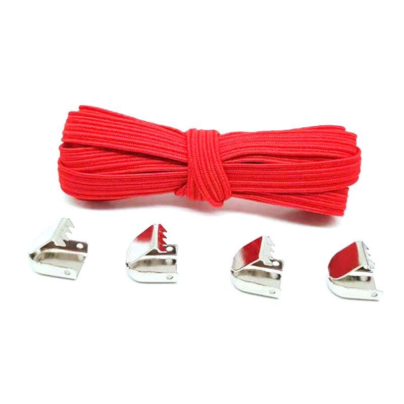 1 Pair 100cm No Tie Lazy Shoelaces For Women Men Free Tie-free Shoelace Stretch Elastic Solid Color Flat Shoe Laces Sneaker Lace