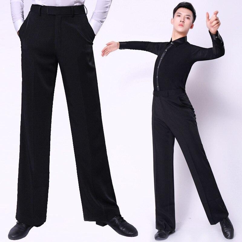 Ballroom Dancing Pants Modern Ballroom Dance Men Dance Costume Practice Pants Dancing Pants Dance Pants Latin Dance Pants
