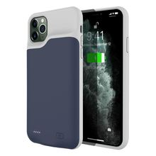 For iPhone 11 Pro Max 6.5 Inch Battery Charger Case 6200mAh External Backup Charger Power Bank Protective Cover Shockproof Coque