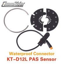Conector a prueba de agua, Sensor de asistencia, KT D12L, 12 imanes, fácil de instalar, Envío Gratis