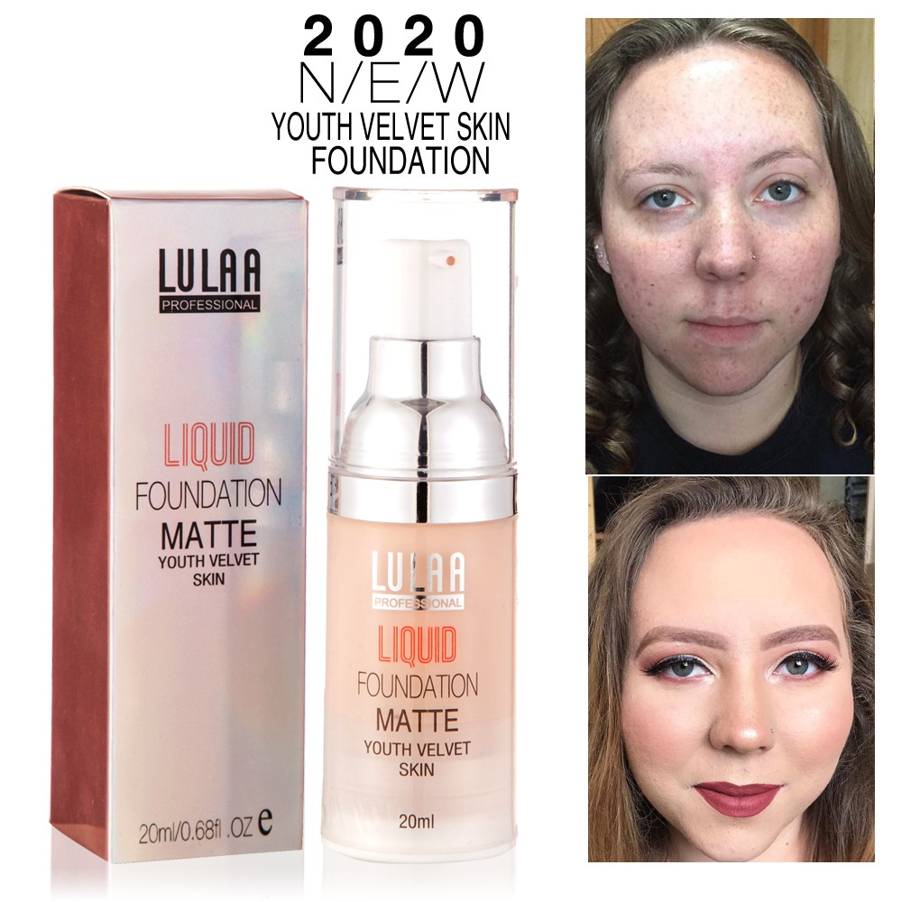 Face Base Primer Makeup Matte Velvet Liquid Foundation Lines Oil-control Cream Brighten Concealer Waterproof Long Last Cosmetics