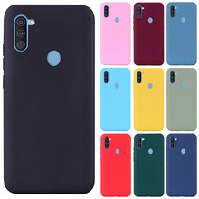 For Samsung Galaxy M11 Case Silicone TPU Soft Back Cover Phone Case For Samsung M11 M115F M 11 6.4 inch Case Fundas Coque Shell