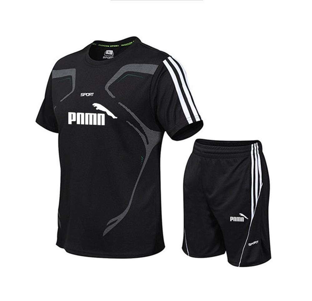 running - Running T Shirt Set Sport GYM Tshirt Football Basketball Tennis Shirt Breathable Quick Dry Fitness Sports Set Suits Sportswear