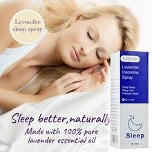 Lawendowy poduszka sen Spray bezsenność olejek uspokajający sen głęboki sen przyjemny sen bezsenność terapia pomoce snu Spray